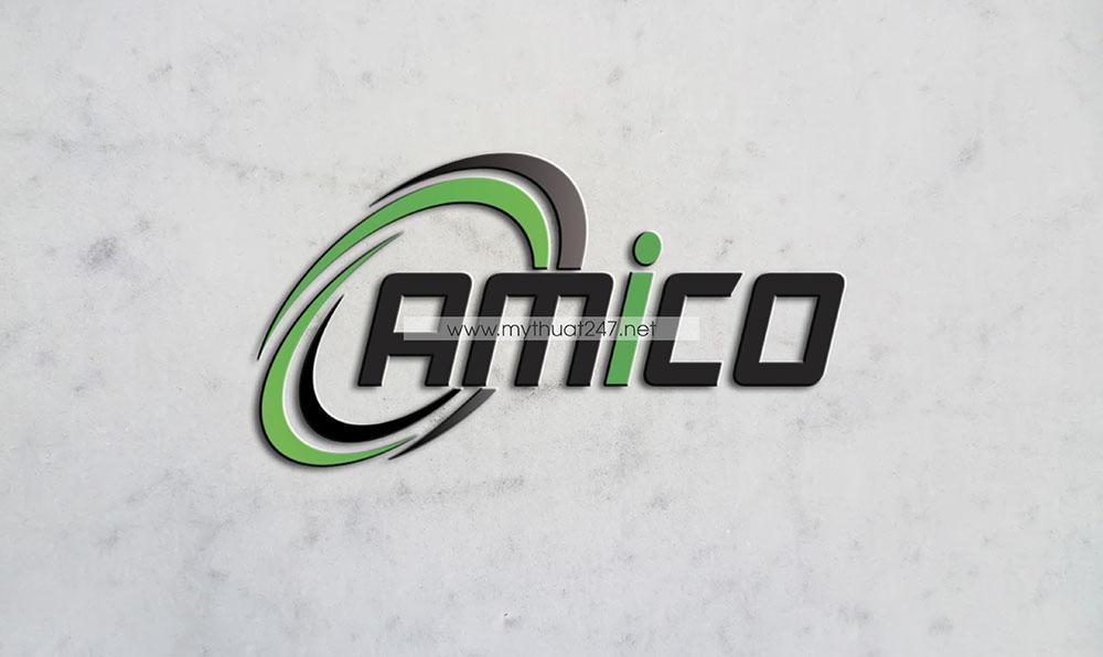Thiết Kế Logo Amico Trảng Bom Biên Hòa