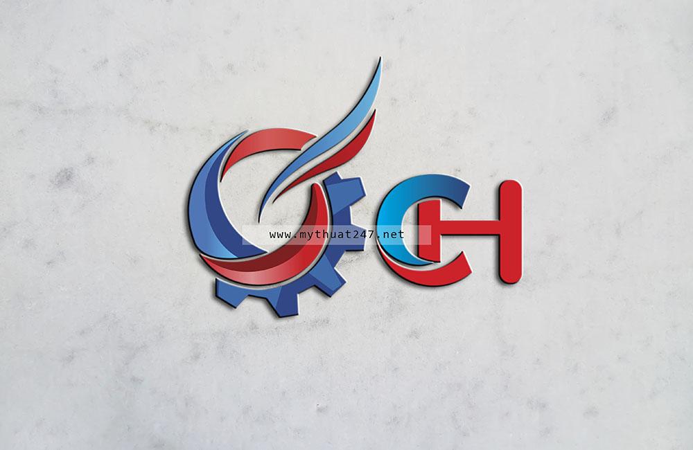 thiet ke logo chánh hưng