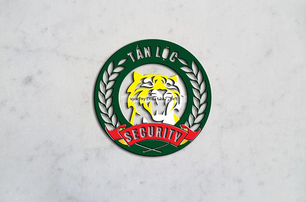 Thiết kế logo Bảo Vệ Tấn Lộc