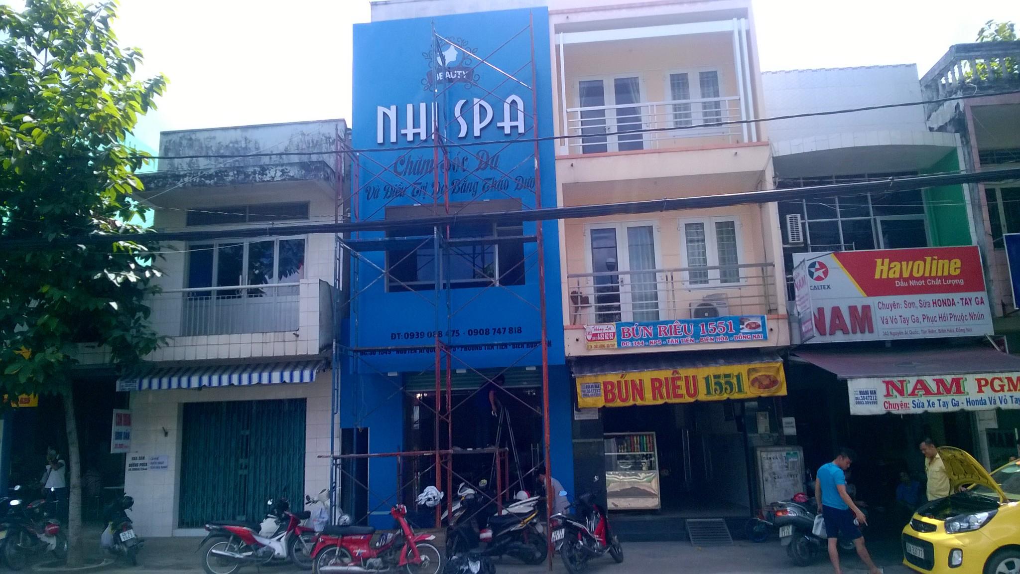 Thiết kế thi công salon NHI SPA