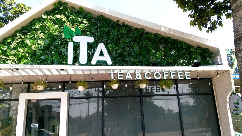 Thiết kế thi công quán trà sữa ITA
