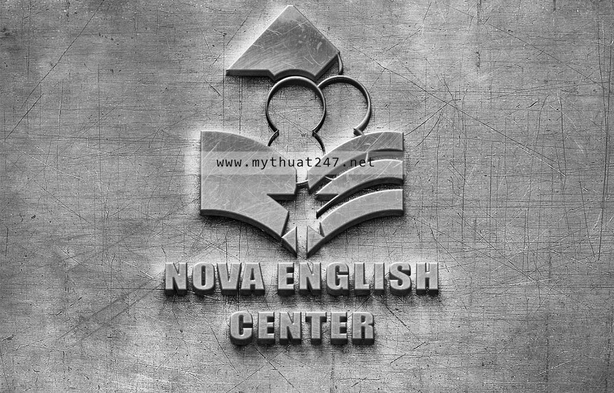Thiết kế logo Nova English Center