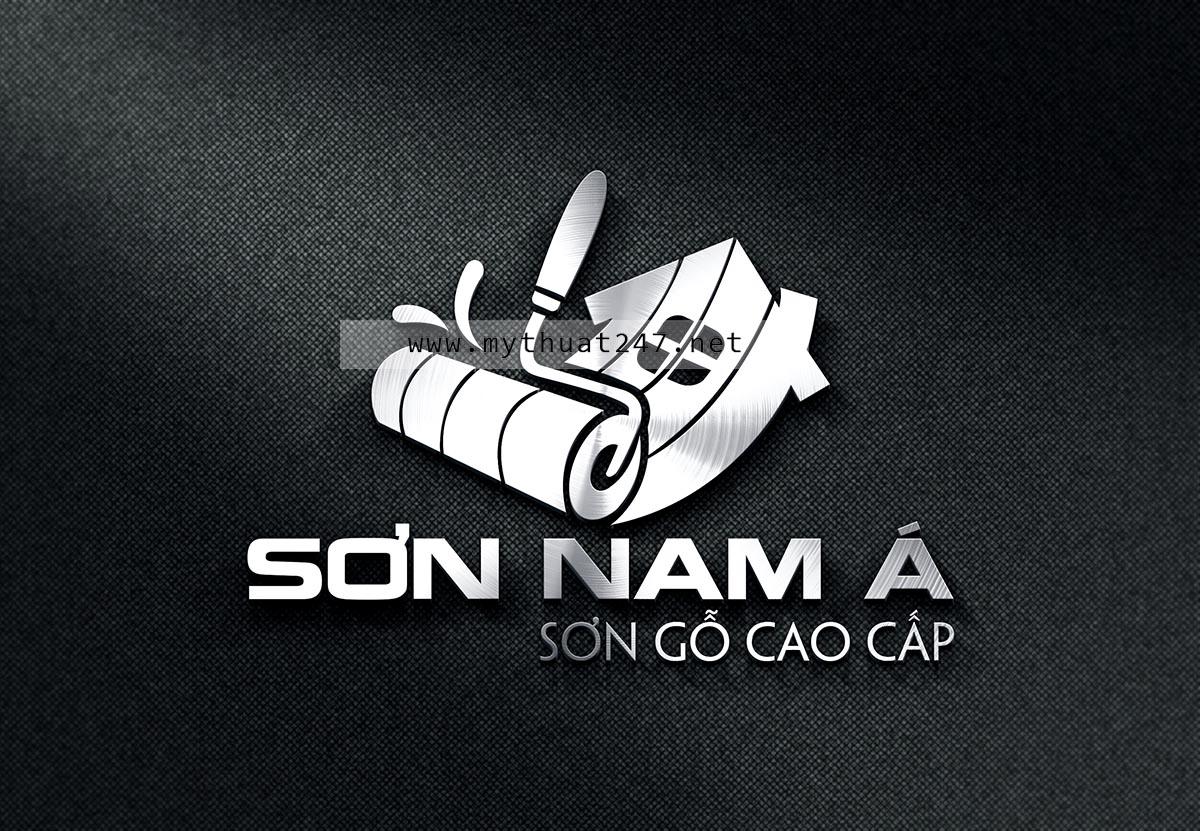 Thiết kế logo Sơn Nam Á