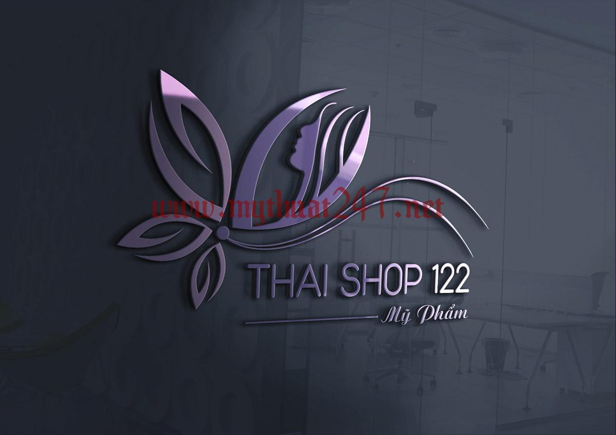 Thiết kế logo Mỹ phẩm Thái Shop