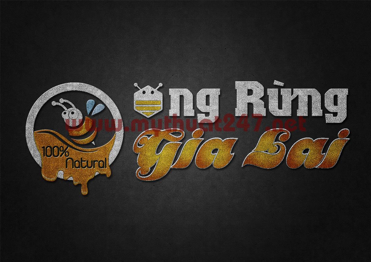 Thiết kế logo Ong Rừng Gia Lai