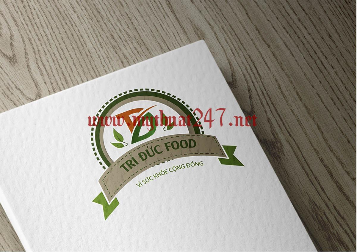 Thiết kế logo Trí Đức Food