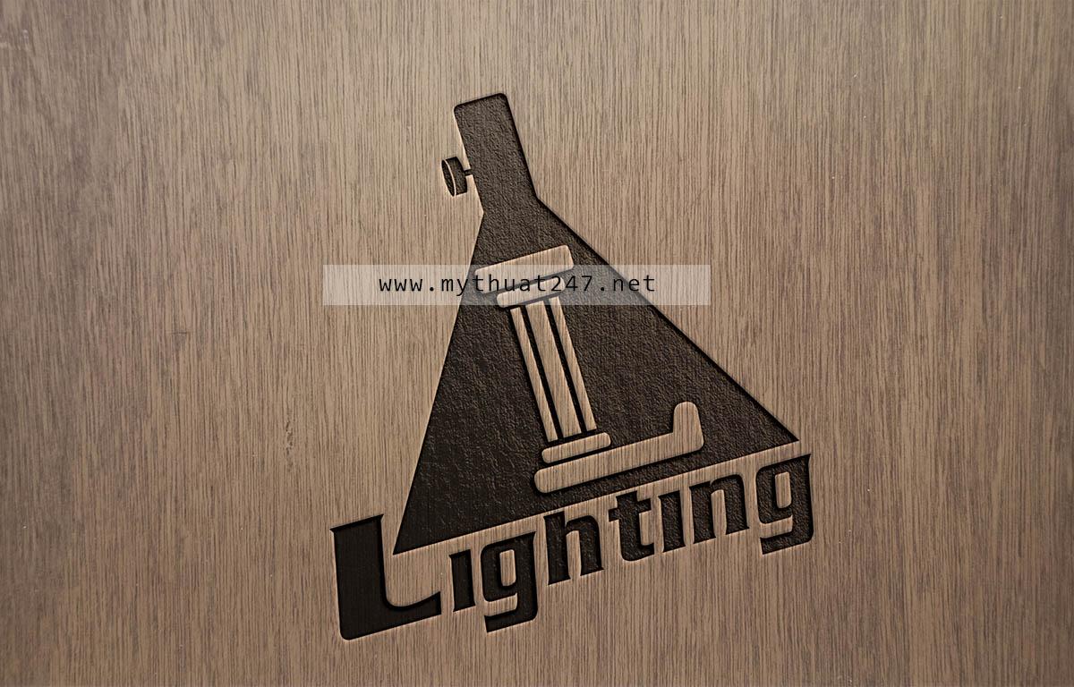 Thiết kế logo Đèn Lighting