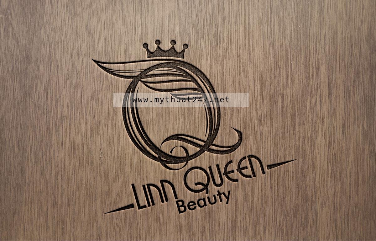 Thiết kế logo Linn Queen