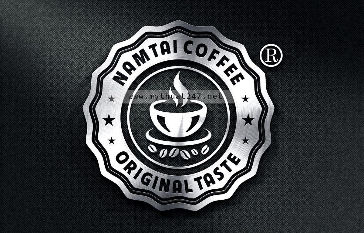 Thiết kế logo cà phê Nam Tài