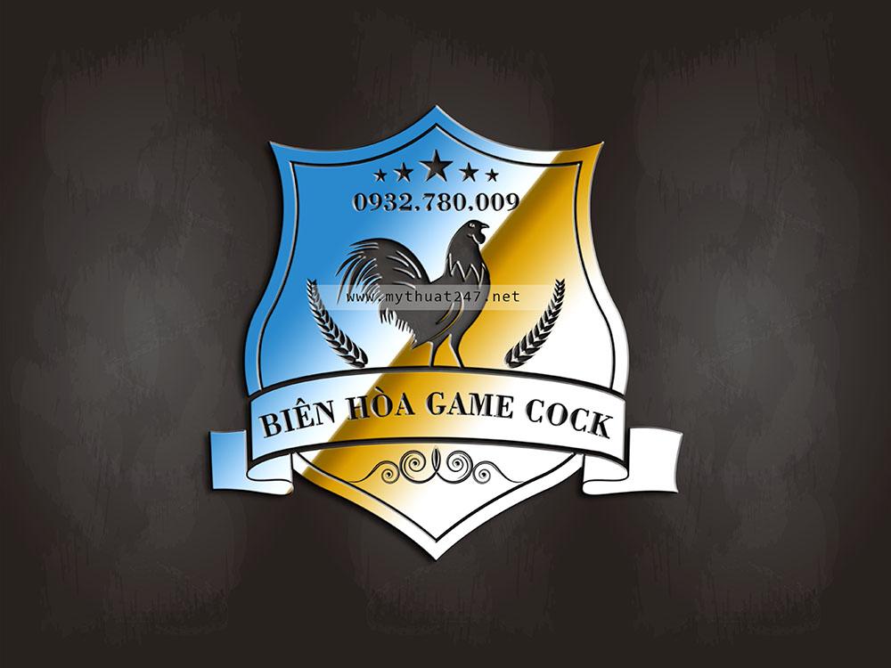 thiet ke logo bien hoa game coock