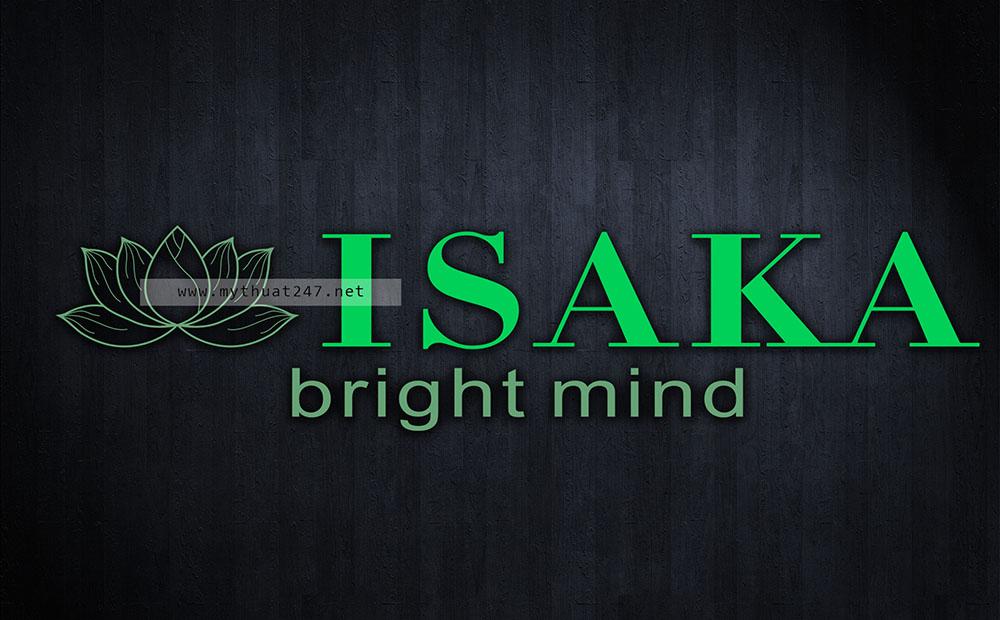 thiet ke logo công ty ISAKA