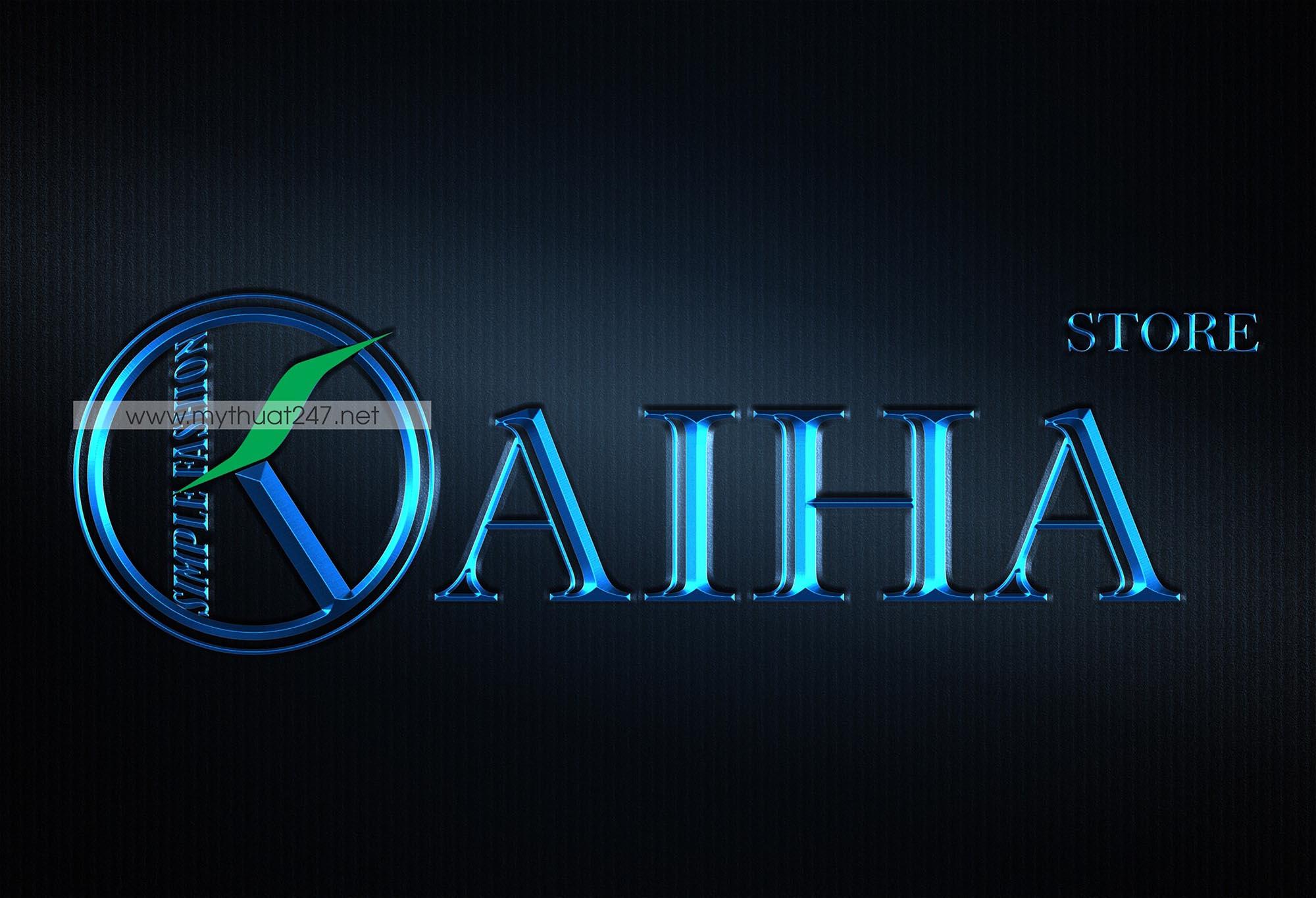 Thiết Kế Logo thời trang Kaiha