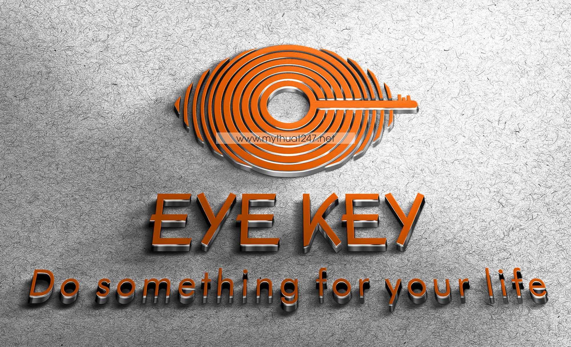 Thiết Kế Logo EYE KEY