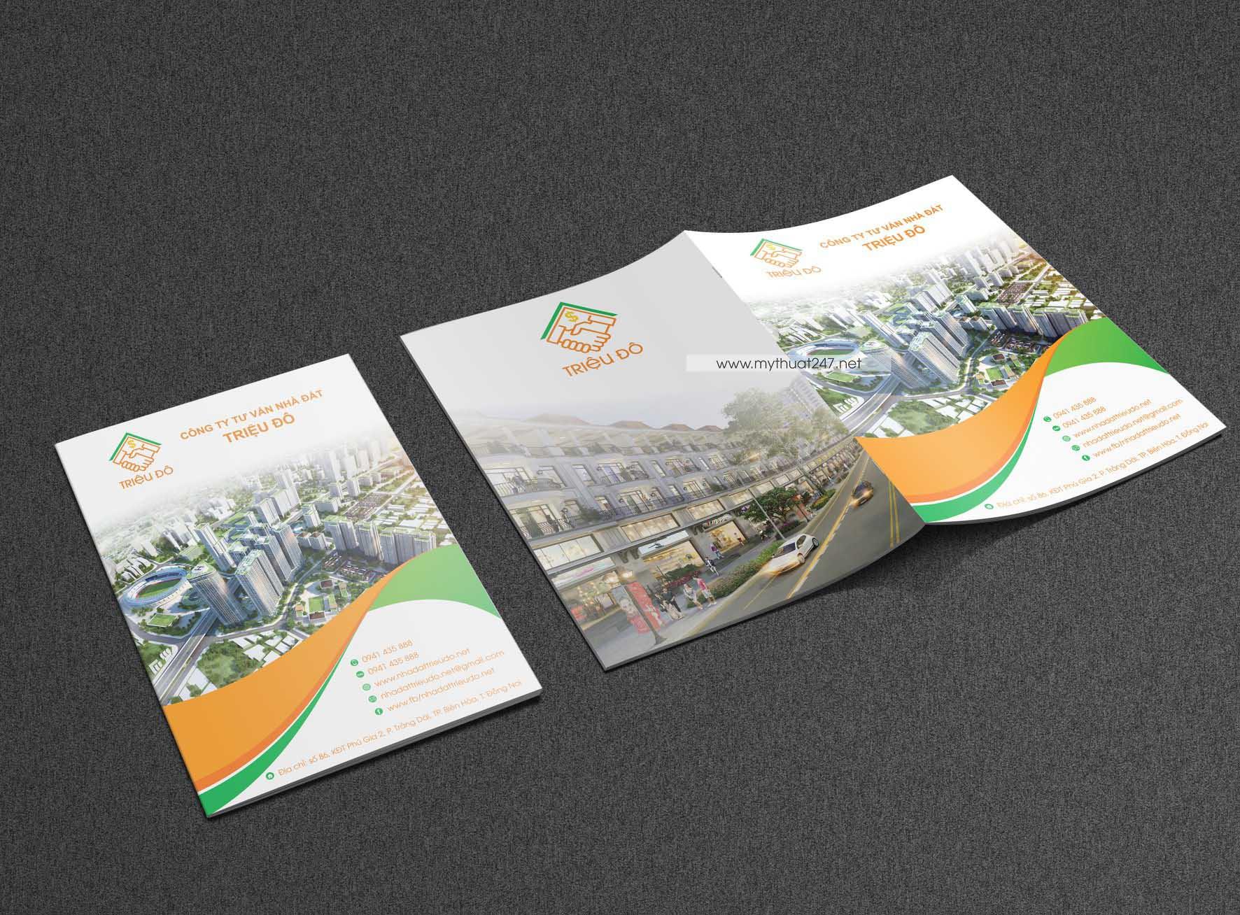 Thiết kế catalogue bất động sản triệu đô
