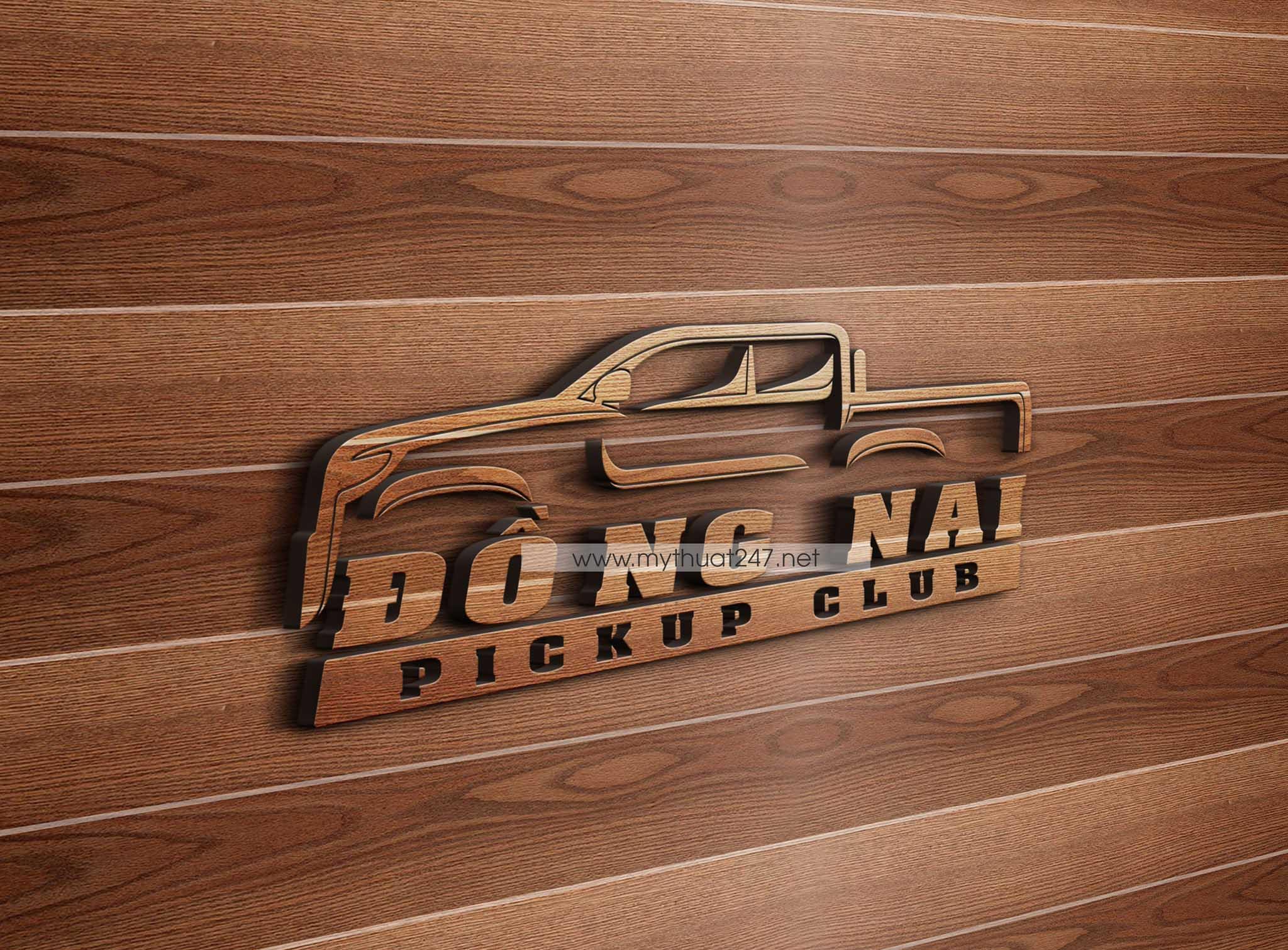 thiết kế logo câu lạc bộ ford ranger đồng nai
