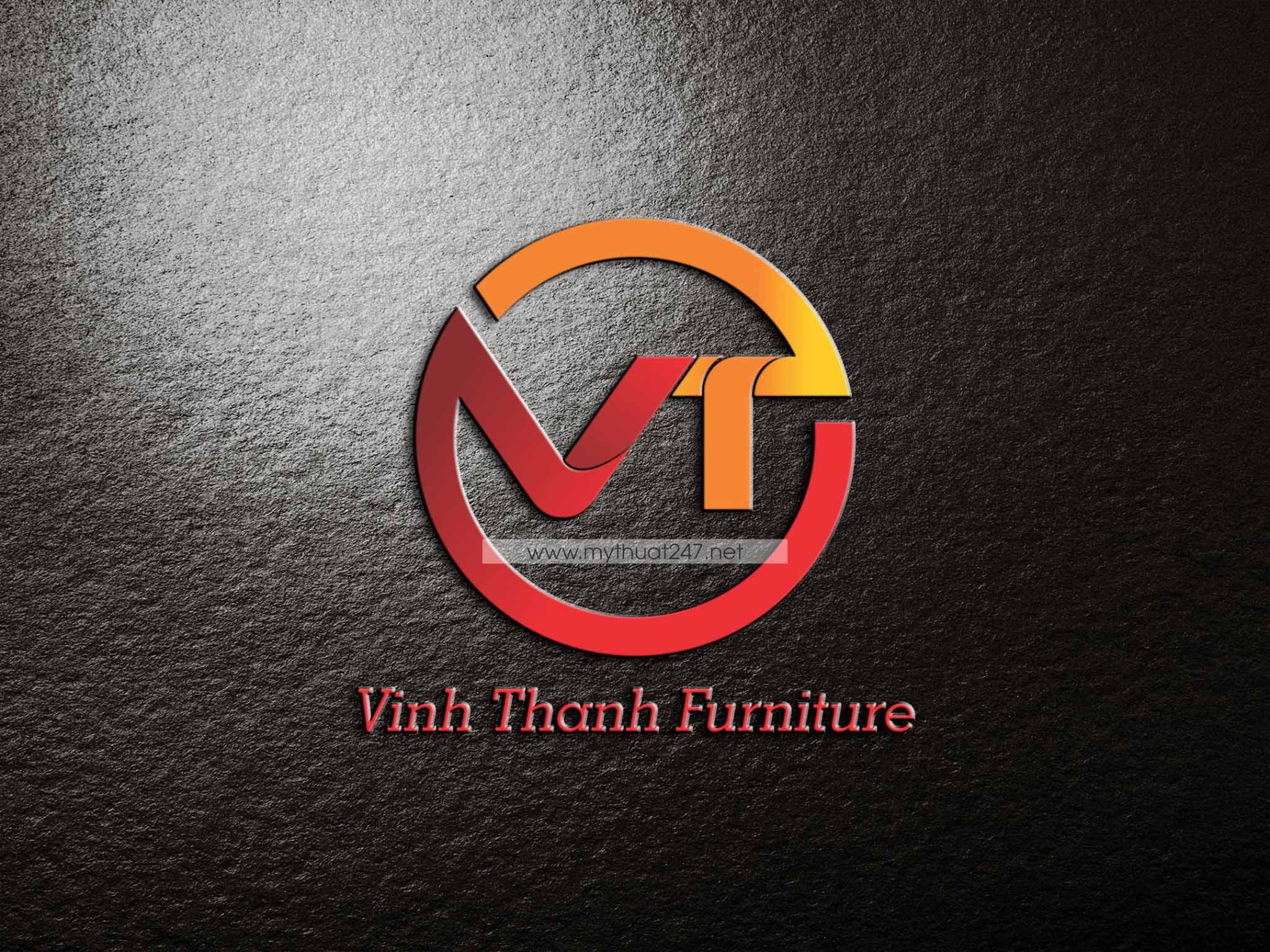 Thiết kế logo công ty tnhh nội thất vĩnh thành