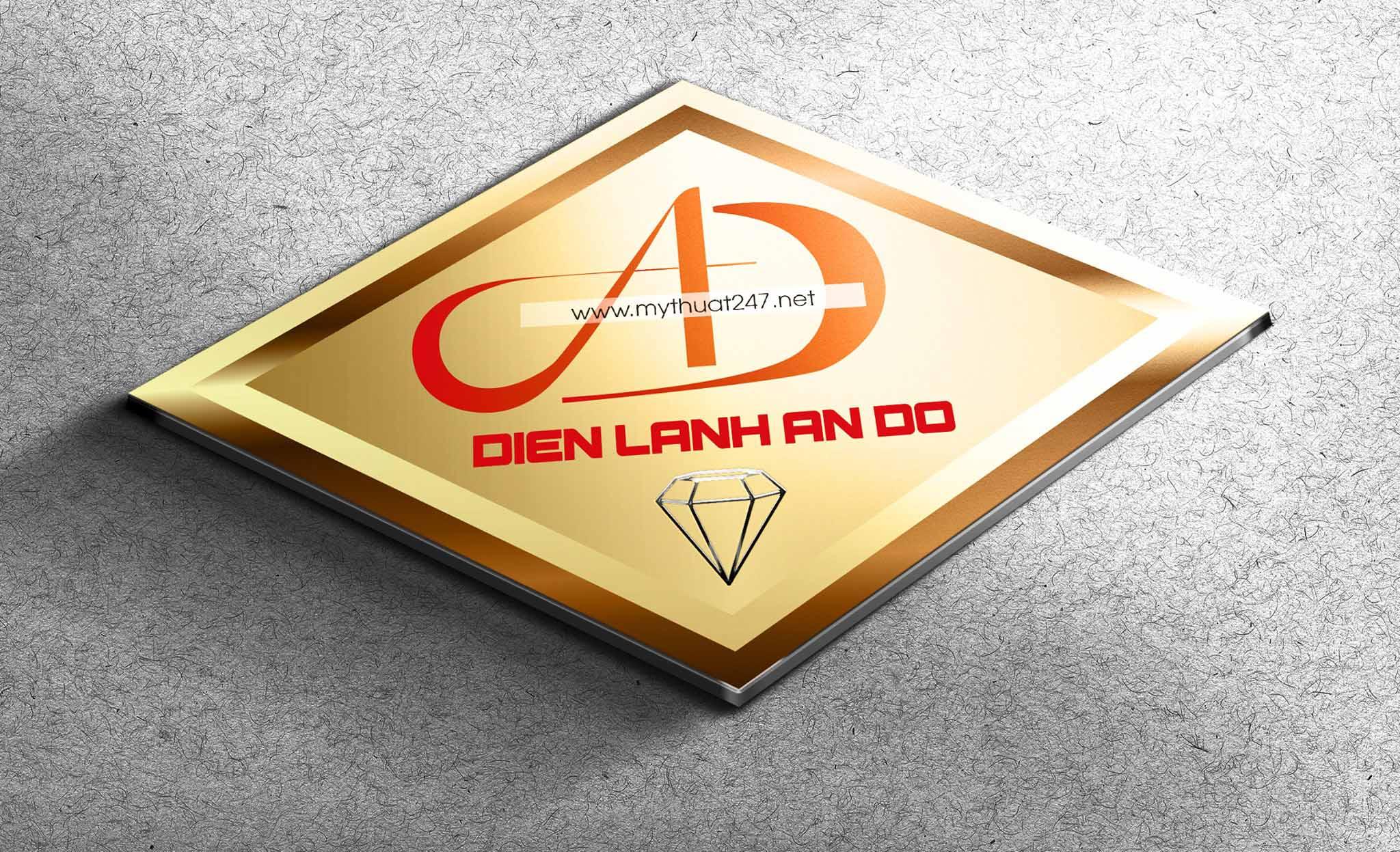 Thiết kế logo công ty điện lạnh an đô