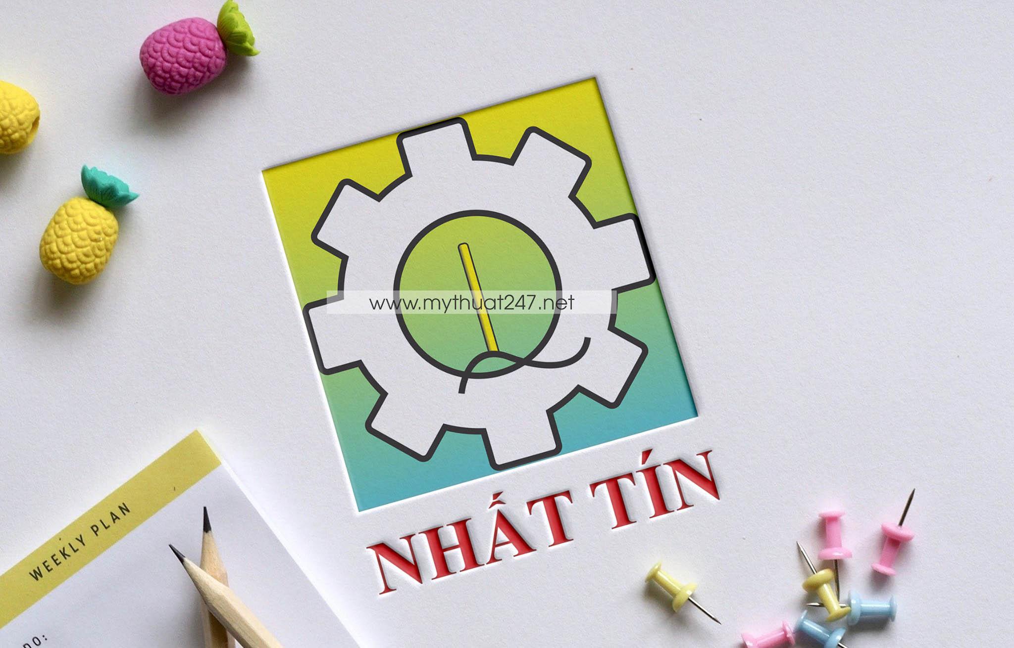 Thiết kế logo công ty tnhh cơ điện tự động nhất tín