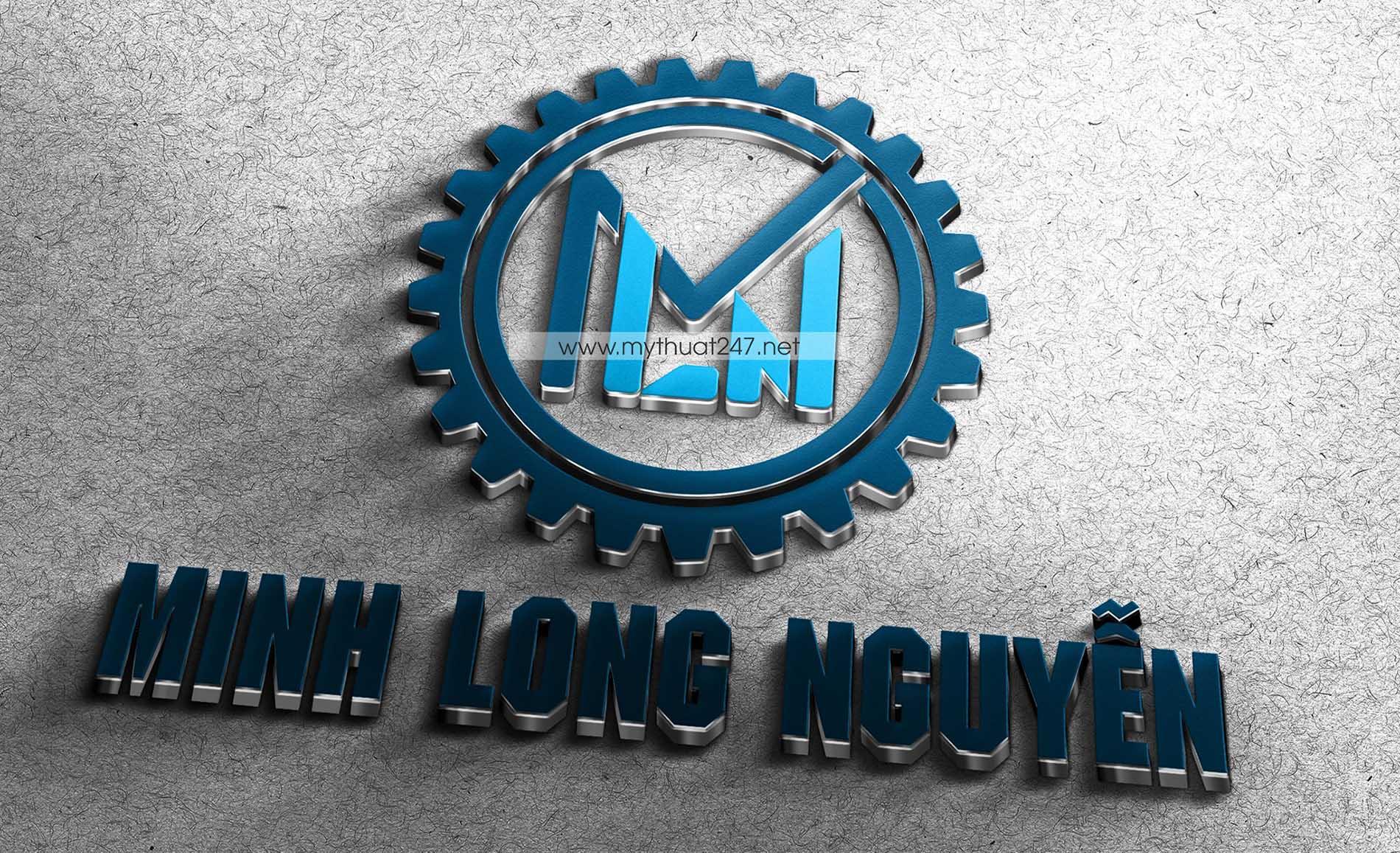 Thiết kế logo công ty tnhh minh long nguyễn