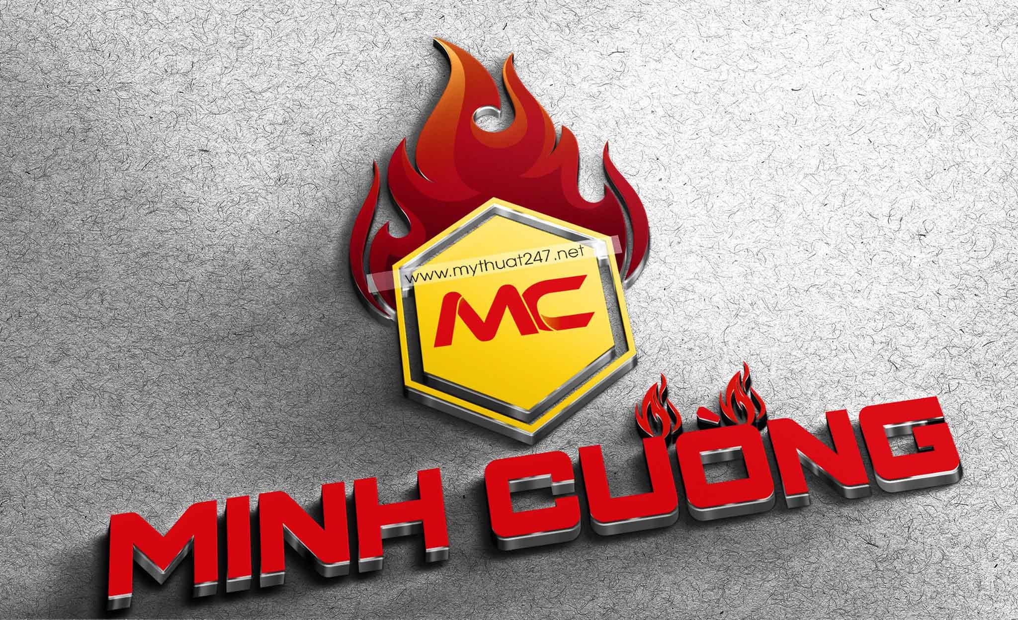 Thiết kế logo công ty tnhh thiết bị pccc minh cường