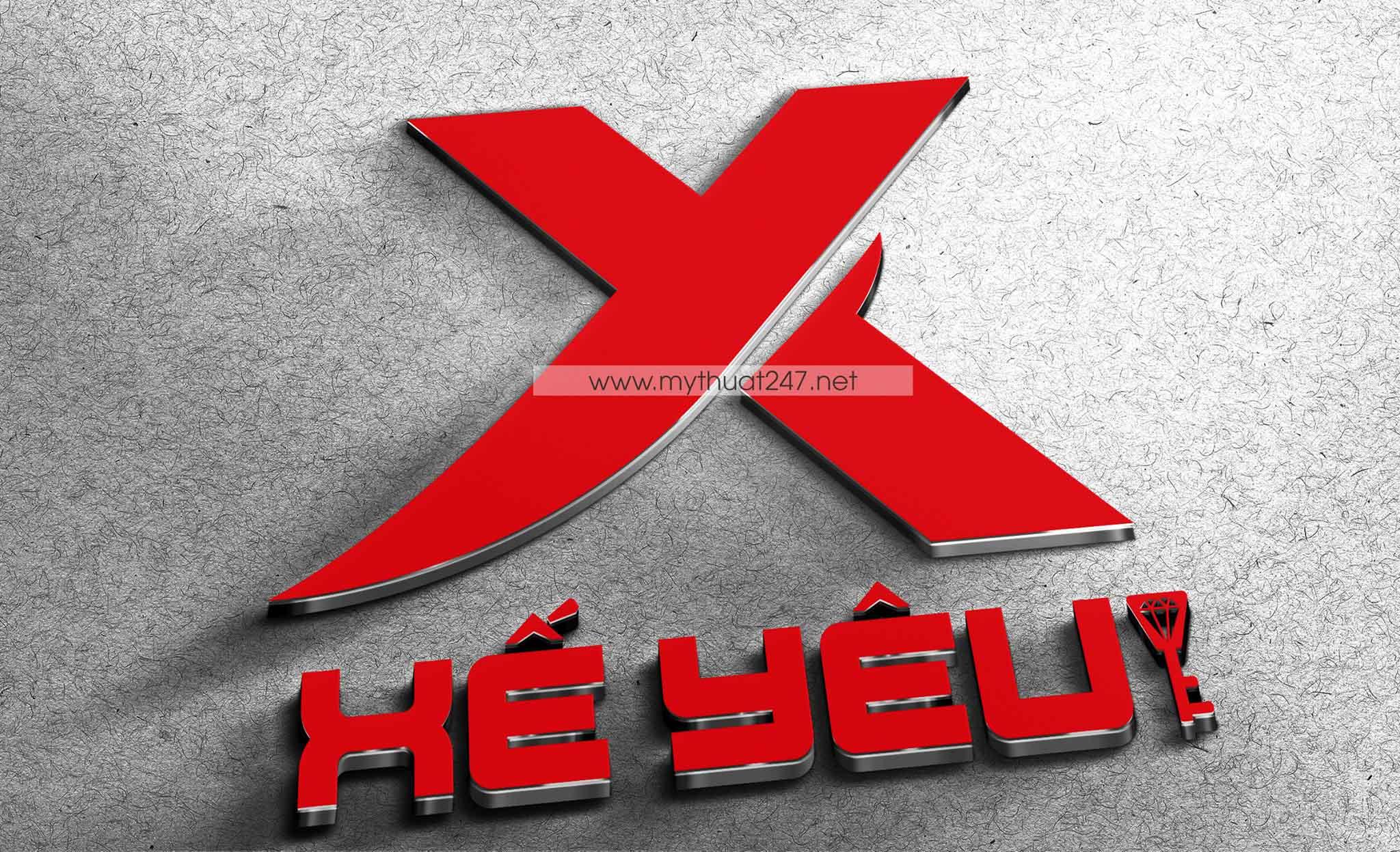 Thiết kế logo xế yêu