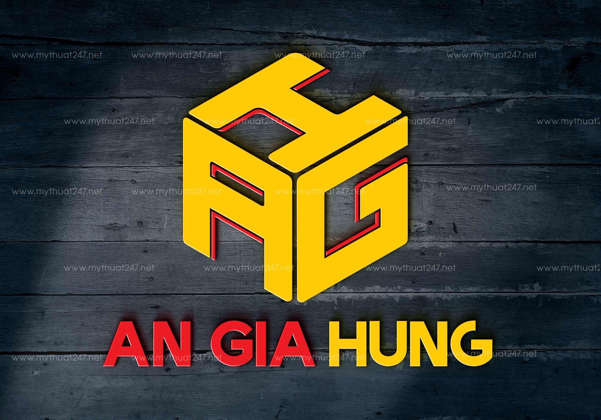 Thiết kế logo công ty bất động sản an gia hưng