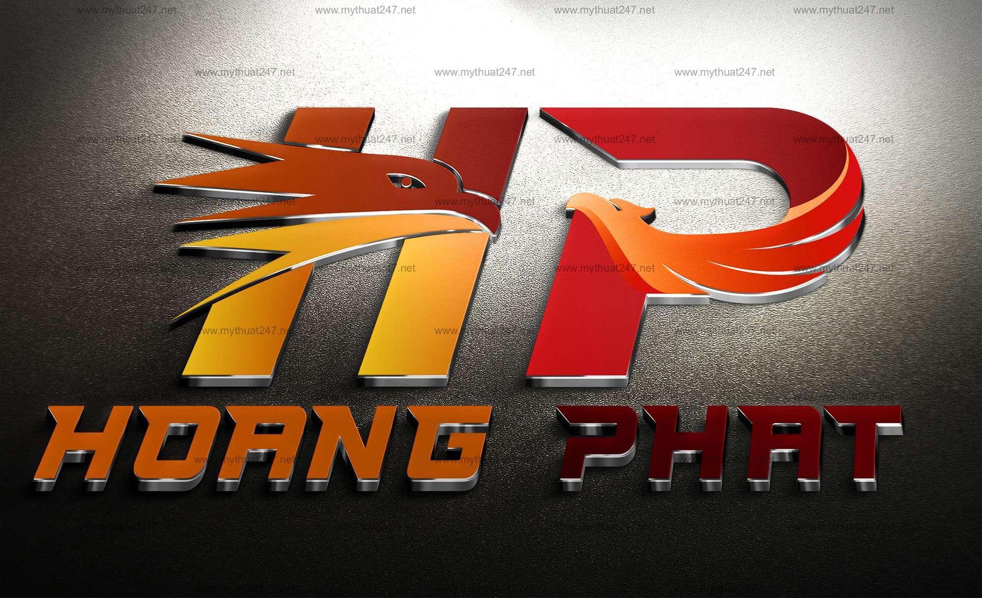 Thiết kế logo công ty tnhh hoàng phát