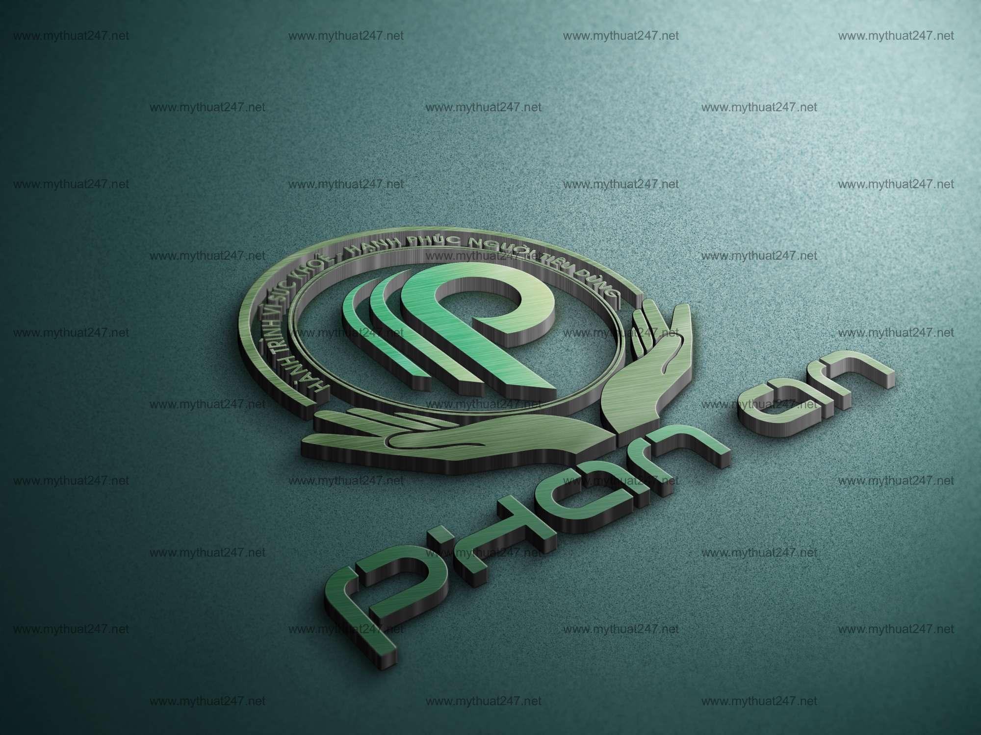 Thiết kế logo công ty tnhh nông sản sạch phan an đăk nông
