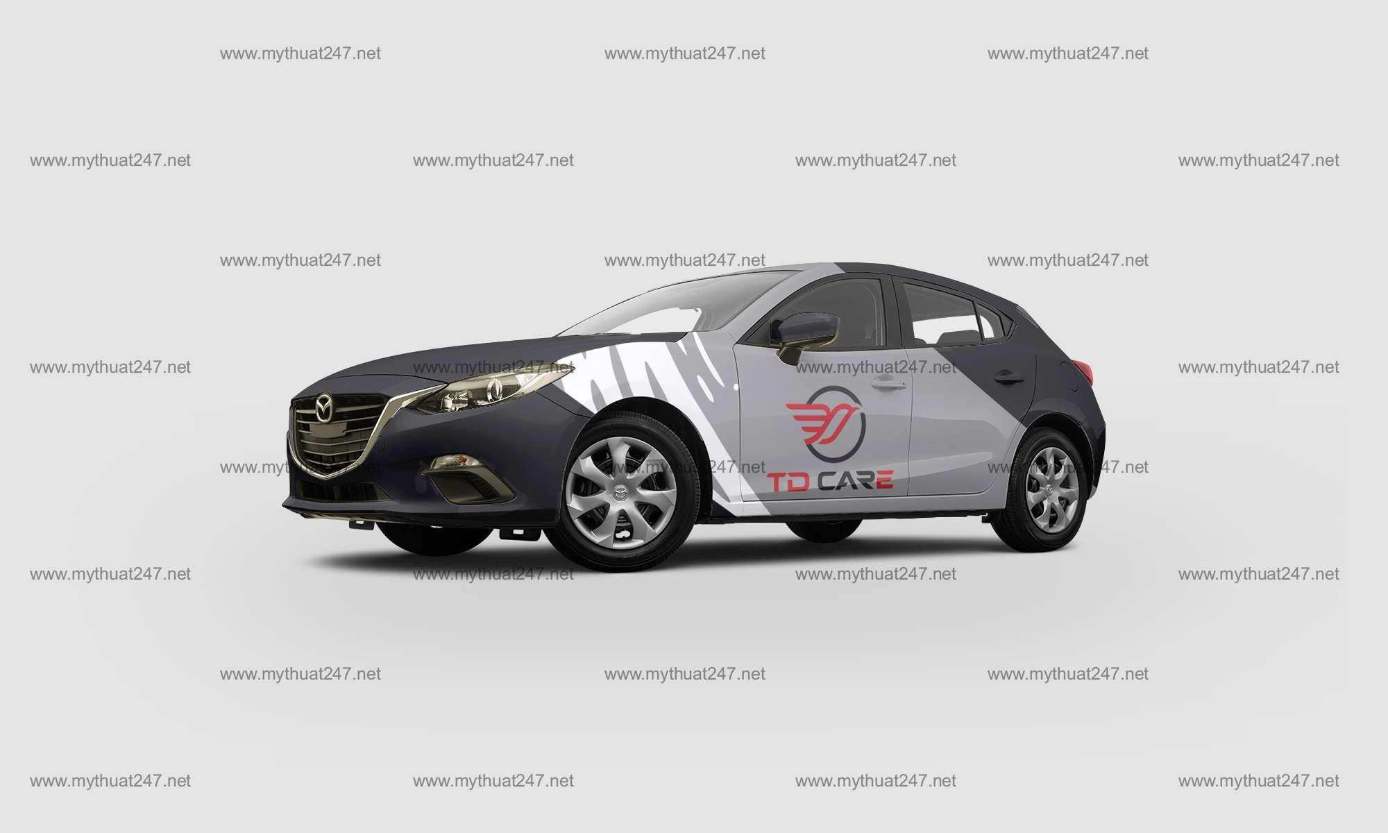 Thiết kế logo công ty tnhh tm dịch vụ mâm lốp toàn dung