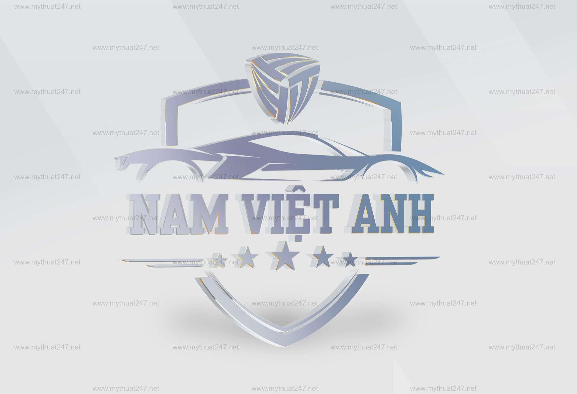 Thiết kế logo công ty cổ phần ô tô nam việt anh
