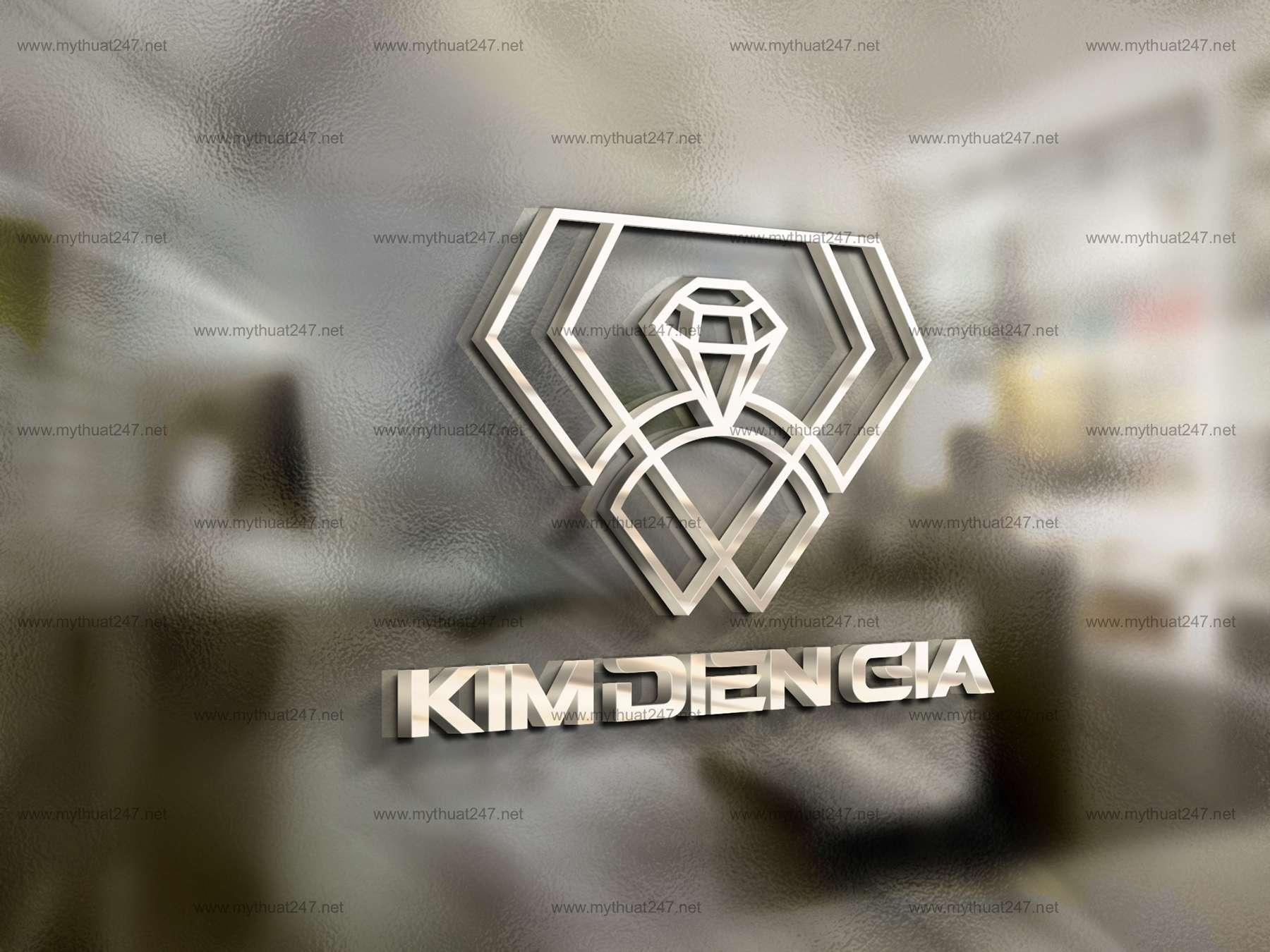 Thiết kế logo công ty tnhh thế giới đá quý kim điền gia