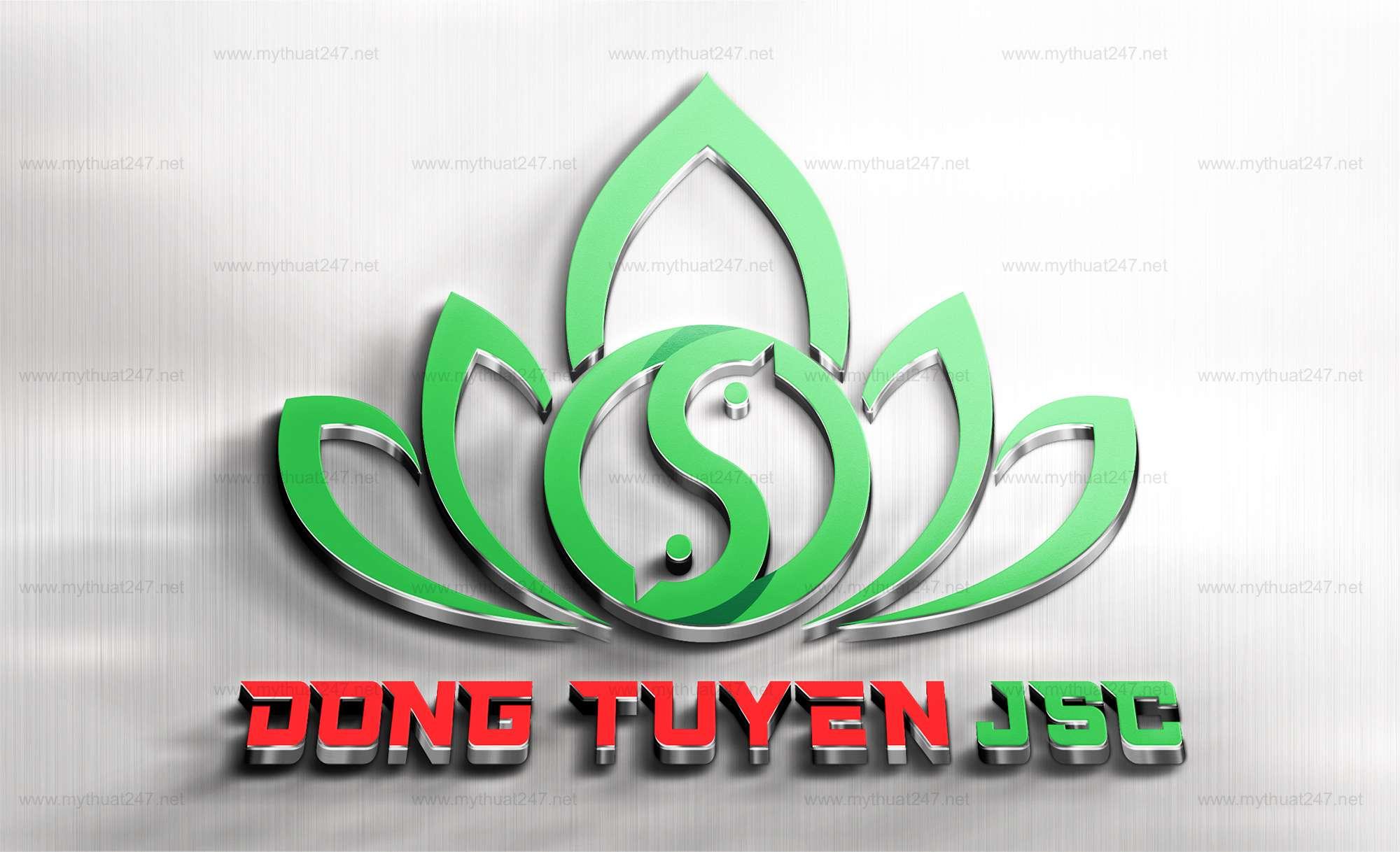 Thiết kế logo đông tuyền JSC
