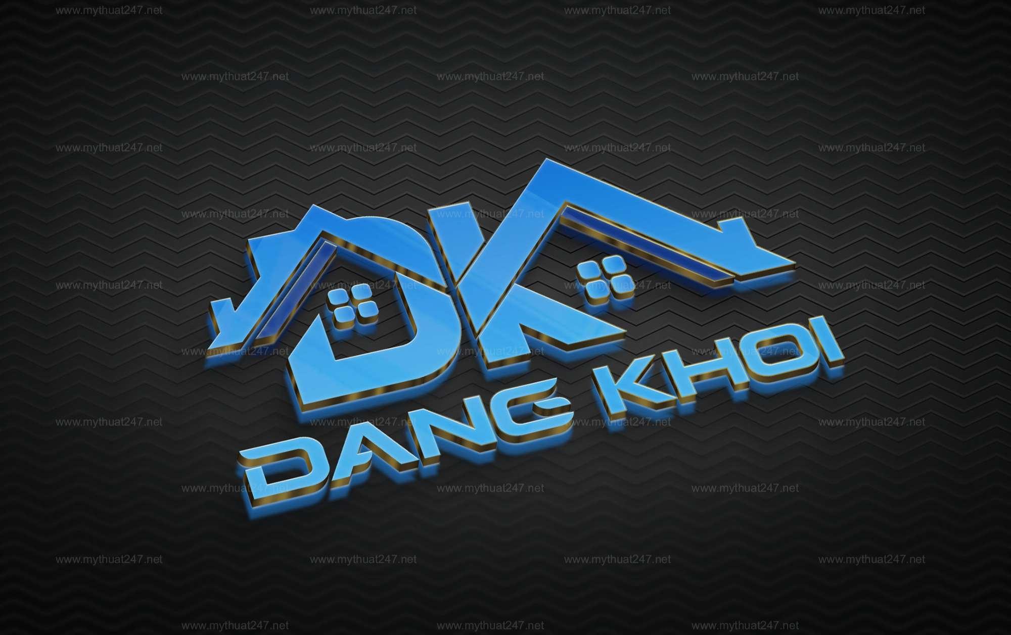 Thiết kế logo công ty tnhh kt xây dựng đăng khoa