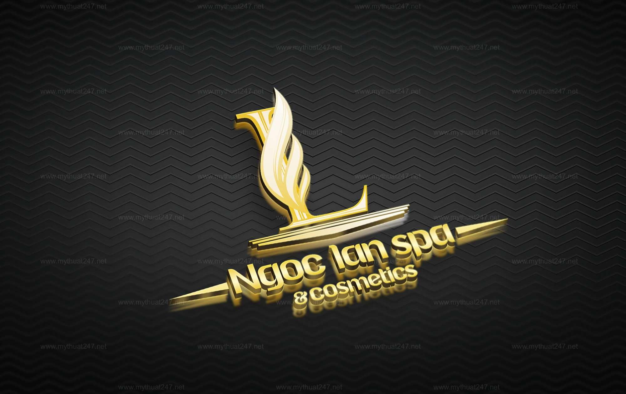 Thiết kế logo ngọc lan spa