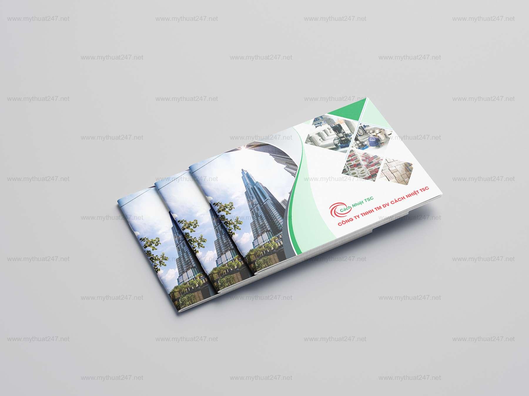 Thiết kế cataloge công ty tnhh tm dv cách nhiệt tsc