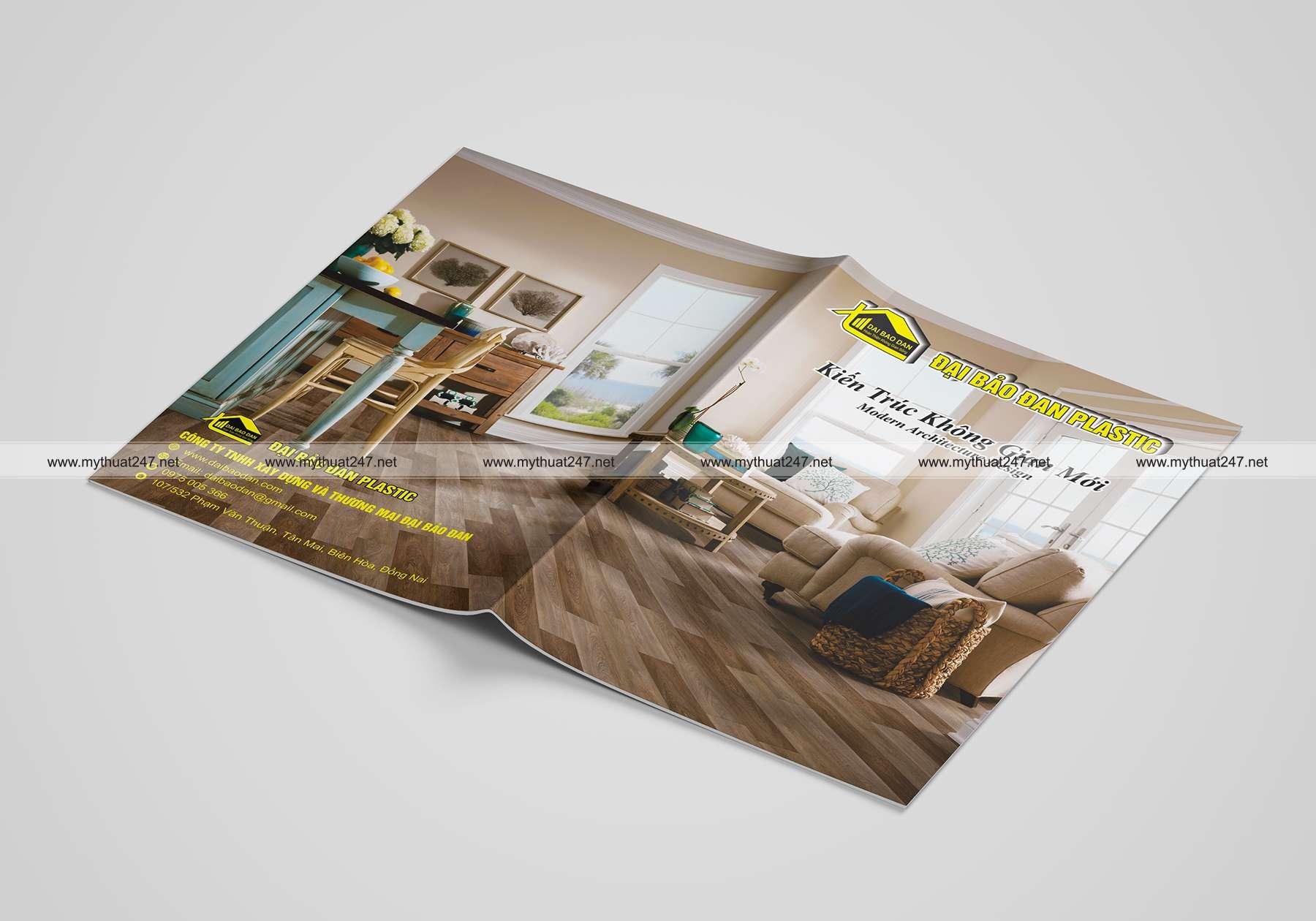 Thiết kế cataloge công ty tnhh XD Và TM Đại Bảo Đan